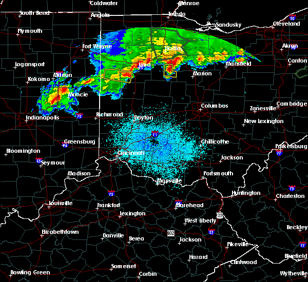 Radar Image for Severe Thunderstorms near Kenton, OH at 6/2/2019 12:06 AM EDT