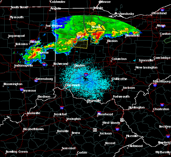 Radar Image for Severe Thunderstorms near Lewistown, OH at 6/2/2019 12:15 AM EDT