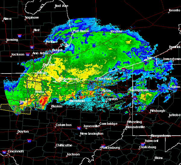 Radar Image for Severe Thunderstorms near Tiro, OH at 6/2/2019 12:23 AM EDT