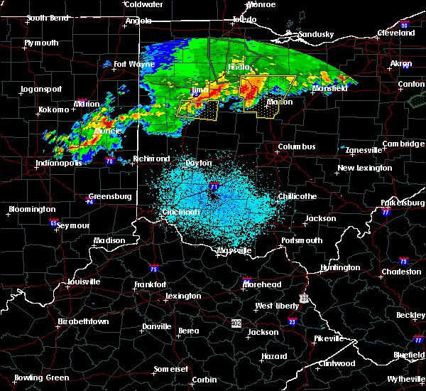 Radar Image for Severe Thunderstorms near Lewistown, OH at 6/2/2019 12:27 AM EDT