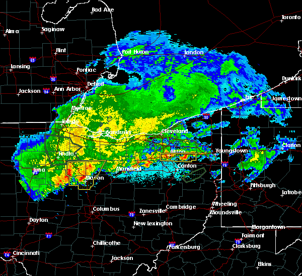 Radar Image for Severe Thunderstorms near Fairlawn, OH at 6/2/2019 12:55 AM EDT