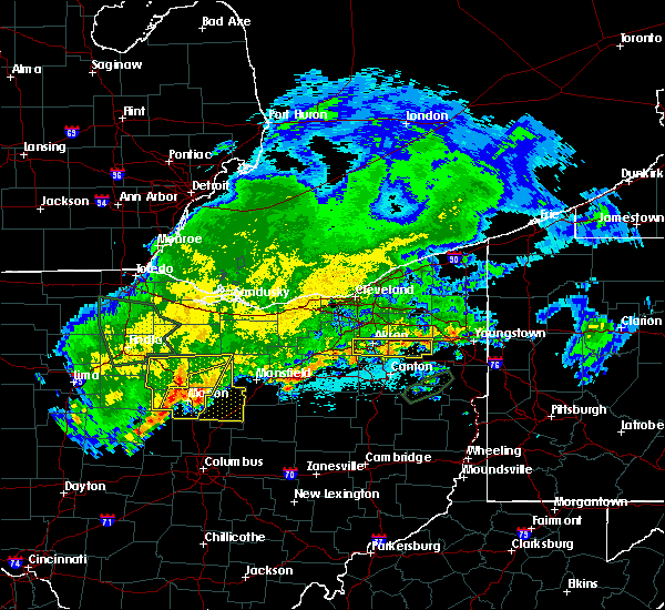 Radar Image for Severe Thunderstorms near Tiro, OH at 6/2/2019 1:15 AM EDT