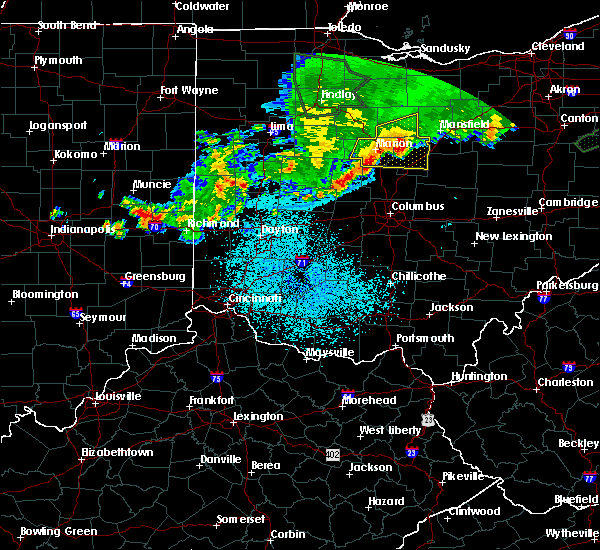 Radar Image for Severe Thunderstorms near Westerville, OH at 6/2/2019 1:28 AM EDT