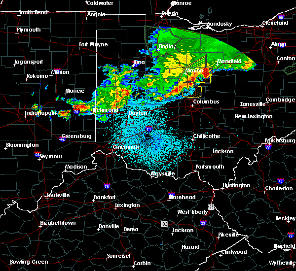 Radar Image for Severe Thunderstorms near Westerville, OH at 6/2/2019 1:38 AM EDT
