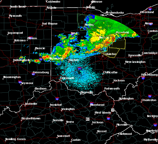 Radar Image for Severe Thunderstorms near Westerville, OH at 6/2/2019 1:47 AM EDT