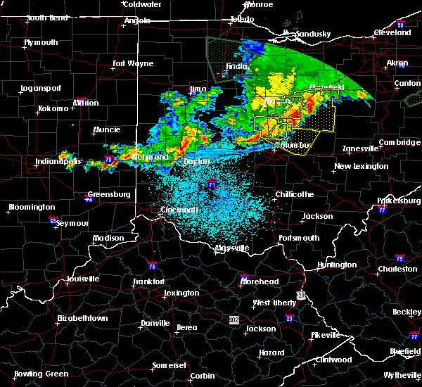 Radar Image for Severe Thunderstorms near Westerville, OH at 6/2/2019 1:59 AM EDT
