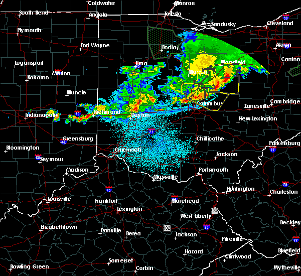 Radar Image for Severe Thunderstorms near Westerville, OH at 6/2/2019 2:04 AM EDT