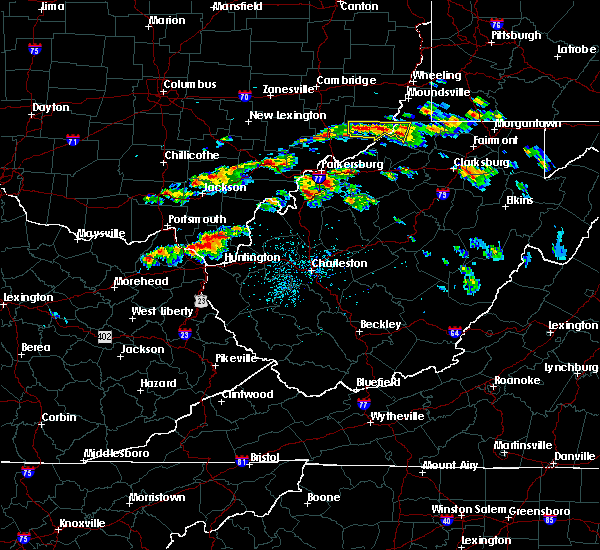 Radar Image for Severe Thunderstorms near Huntington, WV at 6/2/2019 1:29 PM EDT