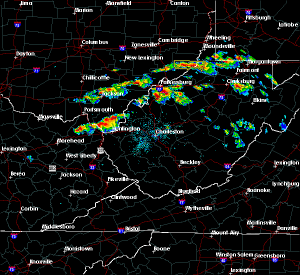 Radar Image for Severe Thunderstorms near Cairo, WV at 6/2/2019 1:31 PM EDT