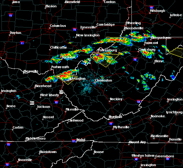 Radar Image for Severe Thunderstorms near Parkersburg, WV at 6/2/2019 1:36 PM EDT