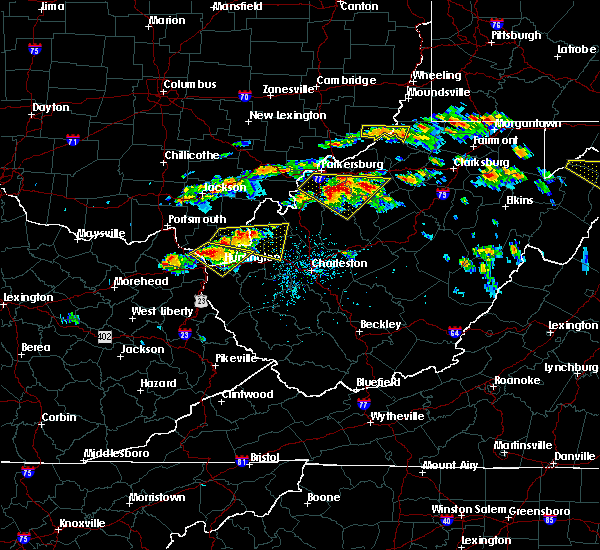 Radar Image for Severe Thunderstorms near Huntington, WV at 6/2/2019 1:46 PM EDT