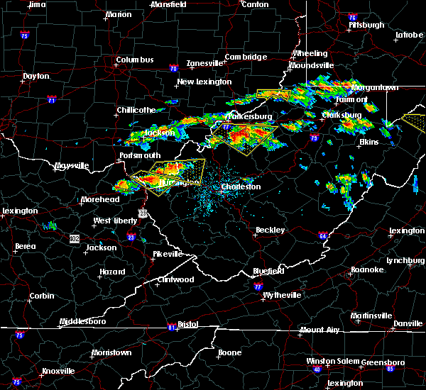 Radar Image for Severe Thunderstorms near Cairo, WV at 6/2/2019 1:51 PM EDT
