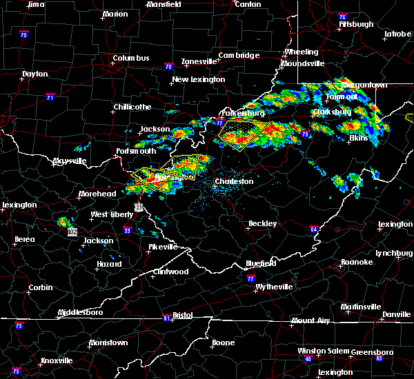 Radar Image for Severe Thunderstorms near Huntington, WV at 6/2/2019 2:14 PM EDT