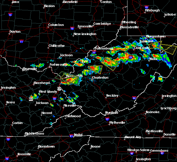 Radar Image for Severe Thunderstorms near Huntington, WV at 6/2/2019 2:45 PM EDT