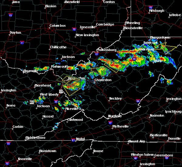 Radar Image for Severe Thunderstorms near Huntington, WV at 6/2/2019 2:54 PM EDT