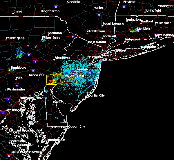 Radar Image for Severe Thunderstorms near Phoenixville, PA at 6/2/2019 3:37 PM EDT
