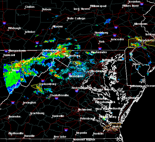 Radar Image for Severe Thunderstorms near Wilson-Conococheague, MD at 6/2/2019 3:48 PM EDT