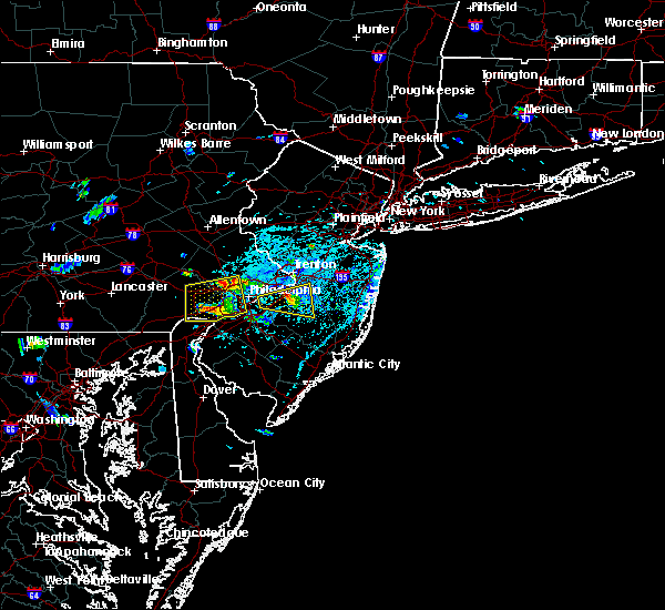 Radar Image for Severe Thunderstorms near Burlington, NJ at 6/2/2019 3:53 PM EDT