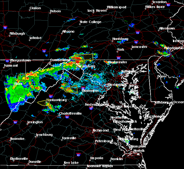 Radar Image for Severe Thunderstorms near Wilson-Conococheague, MD at 6/2/2019 4:02 PM EDT