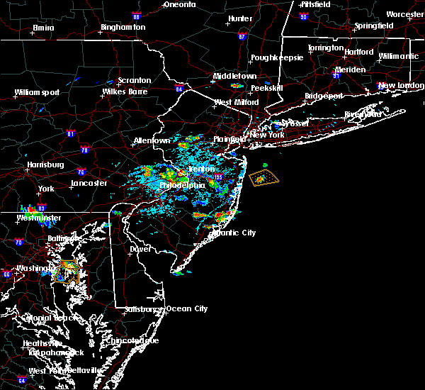 Radar Image for Severe Thunderstorms near Englishtown, NJ at 6/2/2019 4:37 PM EDT