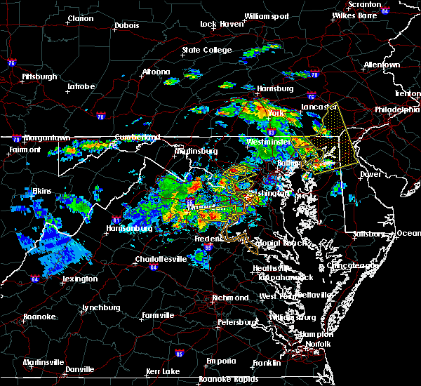 Radar Image for Severe Thunderstorms near South Kensington, MD at 6/2/2019 5:50 PM EDT