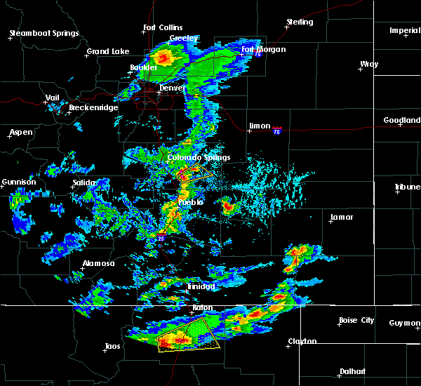 Radar Image for Severe Thunderstorms near Fountain, CO at 6/2/2019 4:04 PM MDT