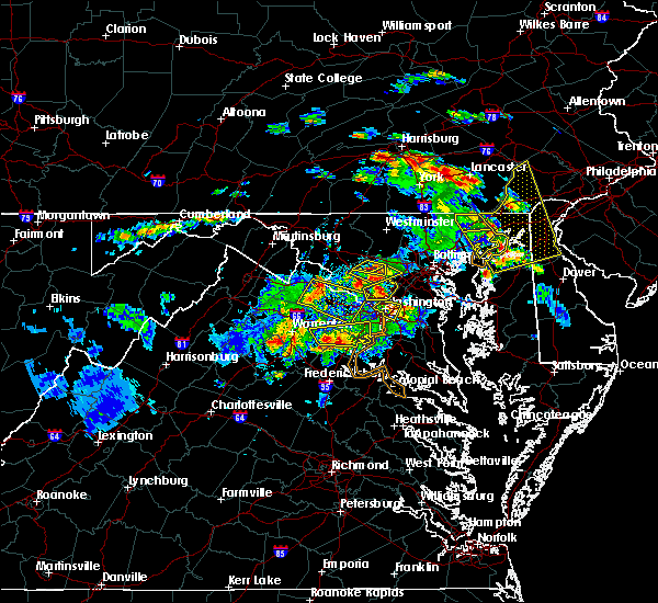 Radar Image for Severe Thunderstorms near Cloverly, MD at 6/2/2019 6:04 PM EDT