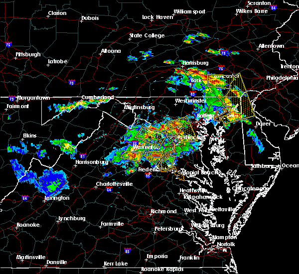 Radar Image for Severe Thunderstorms near Vienna, VA at 6/2/2019 6:11 PM EDT