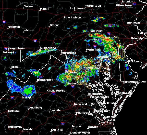 Radar Image for Severe Thunderstorms near North Laurel, MD at 6/2/2019 6:15 PM EDT