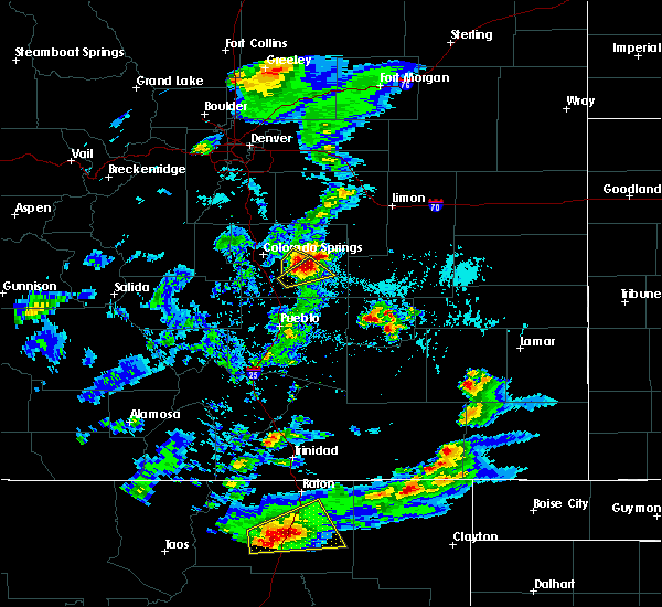 Radar Image for Severe Thunderstorms near Ellicott, CO at 6/2/2019 4:22 PM MDT
