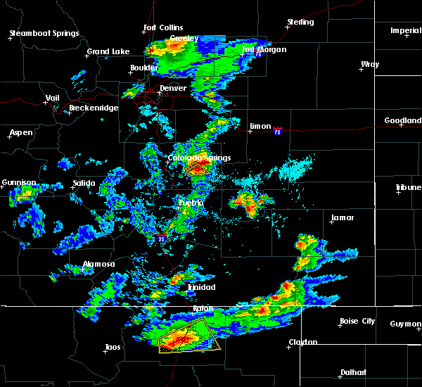 Radar Image for Severe Thunderstorms near Ellicott, CO at 6/2/2019 4:24 PM MDT