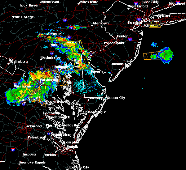 Radar Image for Severe Thunderstorms near Bear, DE at 6/2/2019 6:25 PM EDT