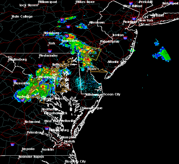 Radar Image for Severe Thunderstorms near Oak Valley, NJ at 6/2/2019 6:52 PM EDT