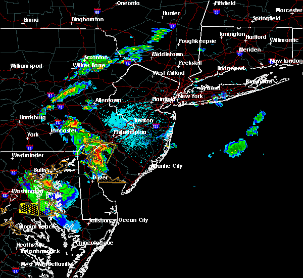 Radar Image for Severe Thunderstorms near Oak Valley, NJ at 6/2/2019 7:05 PM EDT