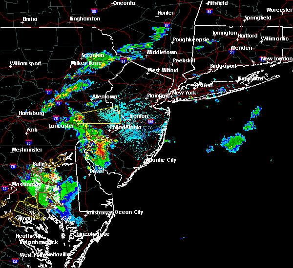 Radar Image for Severe Thunderstorms near Clayton, NJ at 6/2/2019 7:17 PM EDT