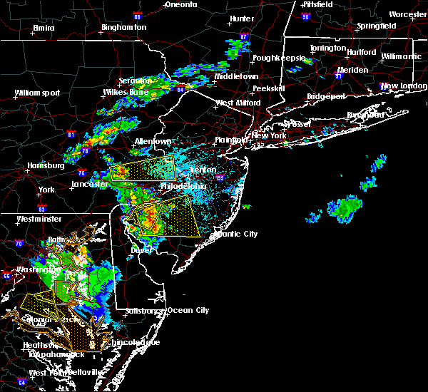 Radar Image for Severe Thunderstorms near Oak Valley, NJ at 6/2/2019 7:19 PM EDT
