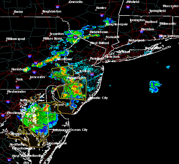 Radar Image for Severe Thunderstorms near Clayton, NJ at 6/2/2019 7:54 PM EDT