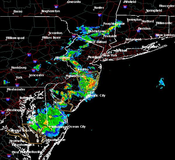 Radar Image for Severe Thunderstorms near Silver Ridge, NJ at 6/2/2019 8:34 PM EDT