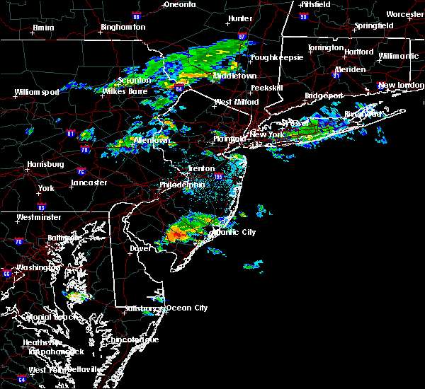 Radar Image for Severe Thunderstorms near Buena, NJ at 6/16/2015 3:30 PM EDT
