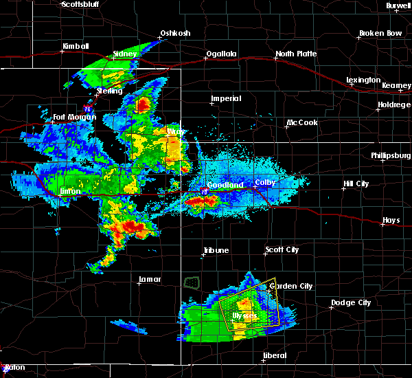 Radar Image for Severe Thunderstorms near Brewster, KS at 6/3/2019 6:53 PM MDT