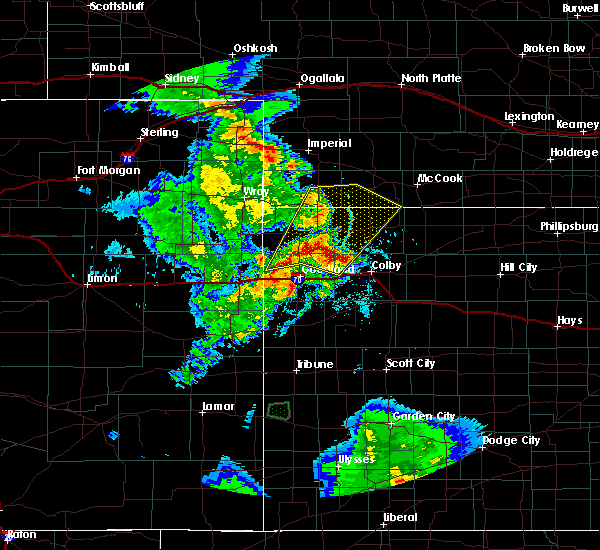 Radar Image for Severe Thunderstorms near St. Francis, KS at 6/3/2019 8:41 PM CDT