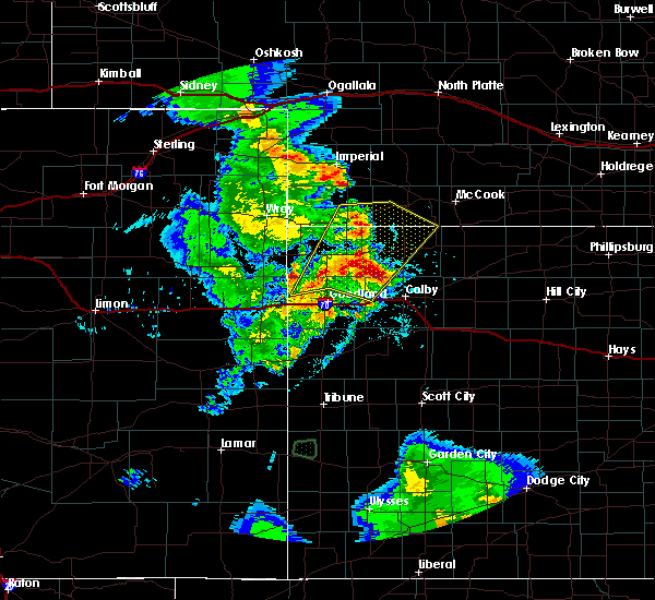 Radar Image for Severe Thunderstorms near Max, NE at 6/3/2019 8:52 PM CDT
