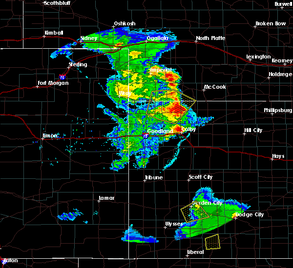 Radar Image for Severe Thunderstorms near Max, NE at 6/3/2019 9:23 PM CDT