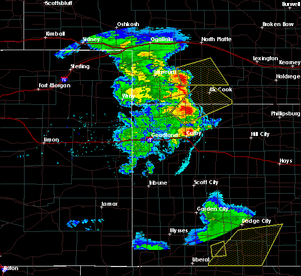 Radar Image for Severe Thunderstorms near Danbury, NE at 6/3/2019 9:33 PM CDT