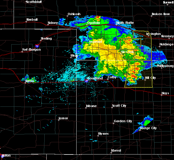 Radar Image for Severe Thunderstorms near Norton, KS at 6/3/2019 10:44 PM CDT
