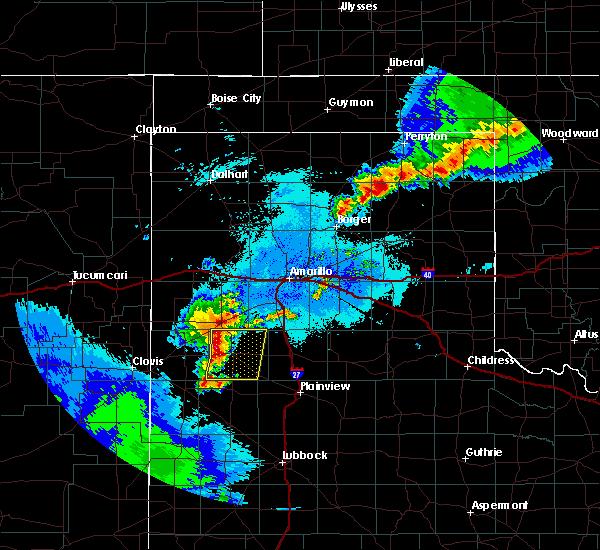 Radar Image for Severe Thunderstorms near Hart, TX at 6/4/2019 12:16 AM CDT