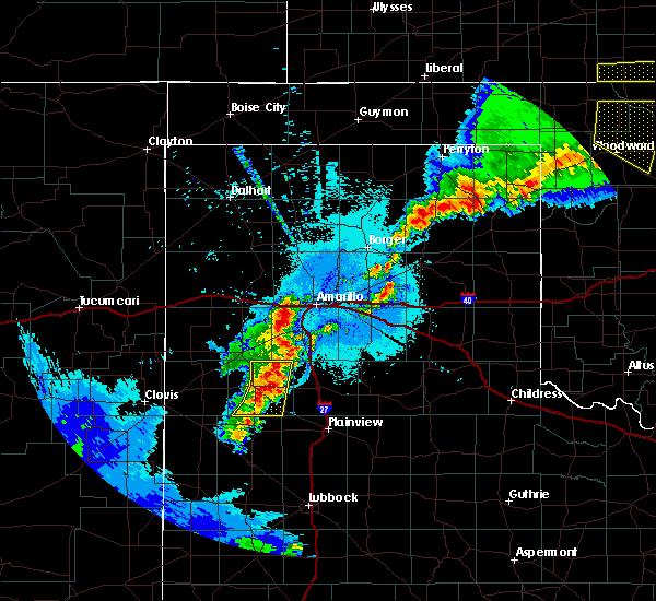 Radar Image for Severe Thunderstorms near Hart, TX at 6/4/2019 12:49 AM CDT