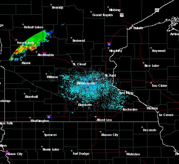 Radar Image for Severe Thunderstorms near Garfield, MN at 6/4/2019 11:43 AM CDT
