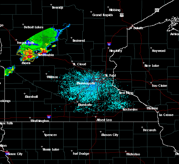 Radar Image for Severe Thunderstorms near Farwell, MN at 6/4/2019 12:18 PM CDT