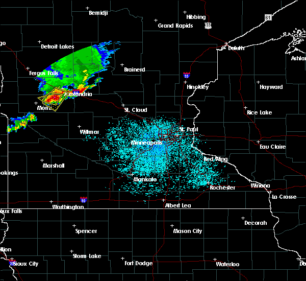 Radar Image for Severe Thunderstorms near Farwell, MN at 6/4/2019 12:30 PM CDT